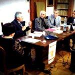 da sinistra: Lucia Navarrini, Angelo Foletto, Piero Mioli, Fabrizio Dorsi, Salvatore Dell'Atti