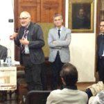 Da sinistra: Piero Mioli, Giuseppe Tartaro, Fabrizio Dorsi e Salvatore Dell'Atti