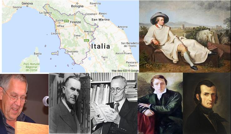 I tedeschi e la Toscana tre letteratura e turismo