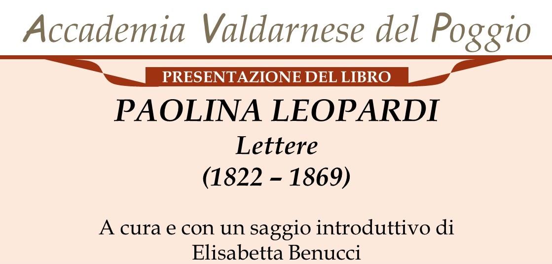 Lettere Paolina Leopardi